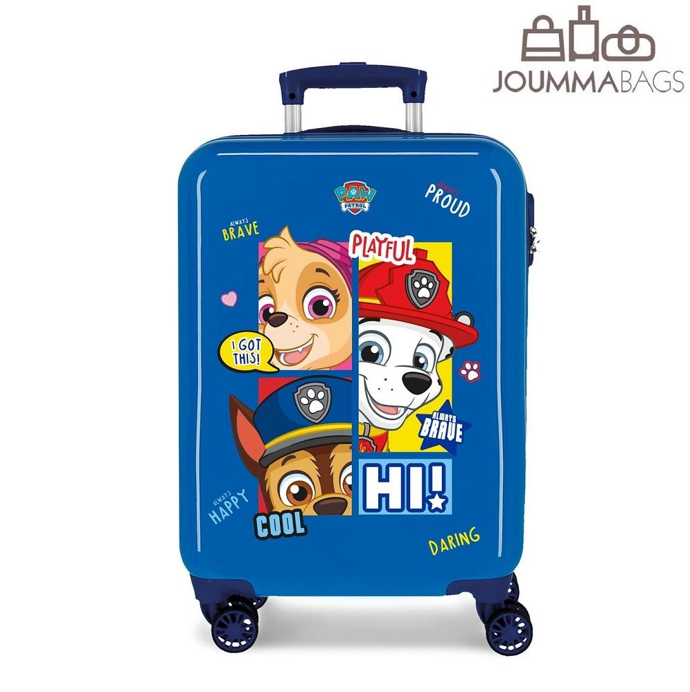 Lasten ABS matkalaukku 55 cm Ryhma Hau sininen