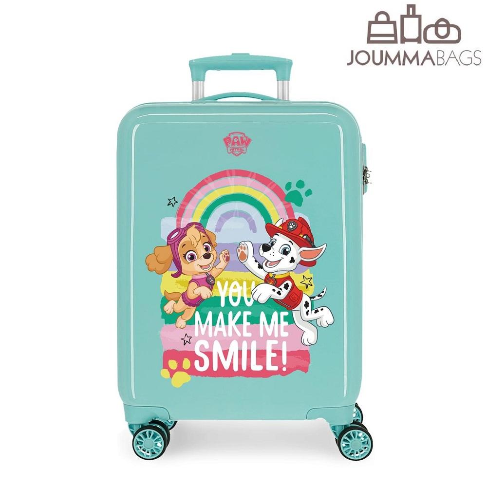 Lasten ABS matkalaukku 55 cm Ryhma Hau vaaleansininen