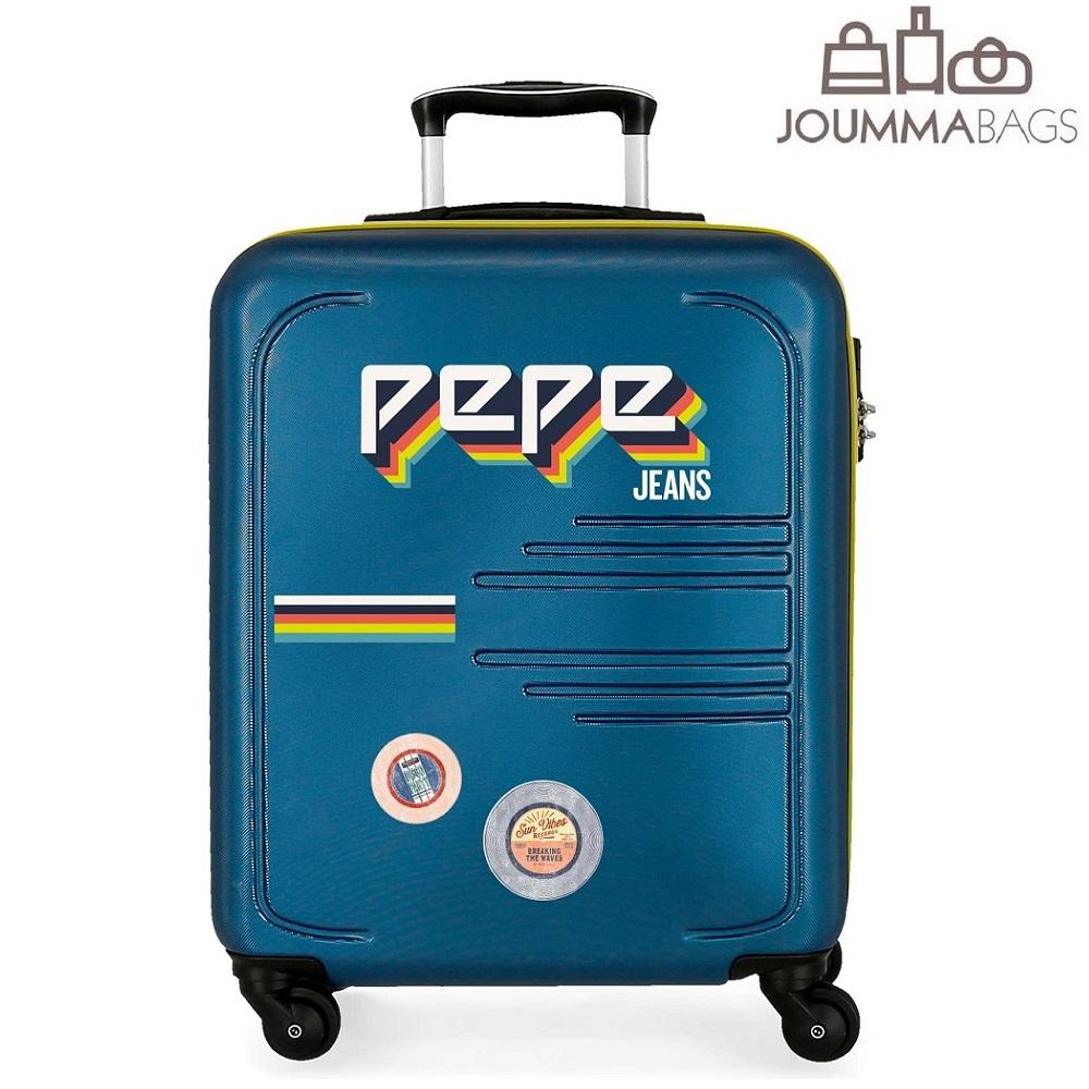 Lasten matkalaukku Pepe Jeans Edision sininen