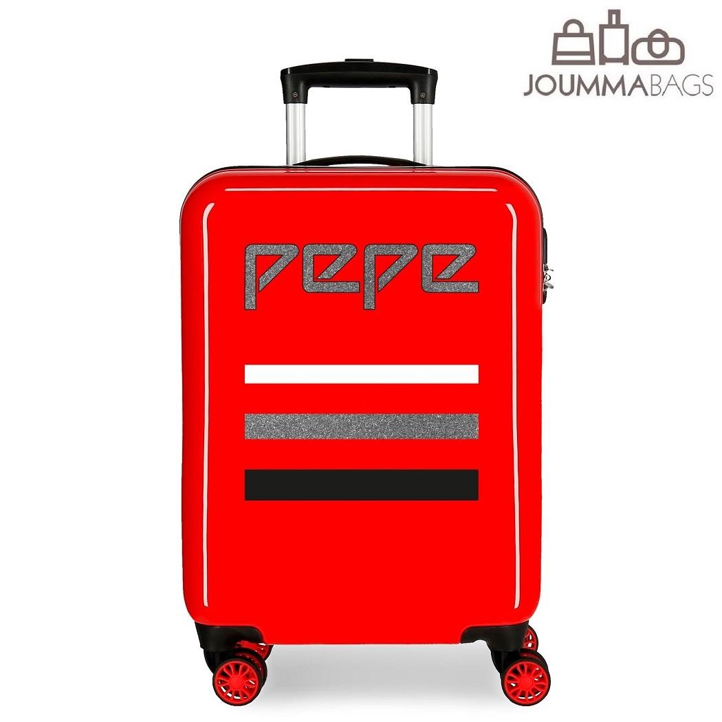 Lasten matkalaukku Pepe Jeans World punainen