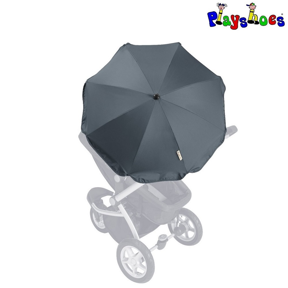 Aurinkovarjo rattaisiin ja vaunuihin Playshoes musta