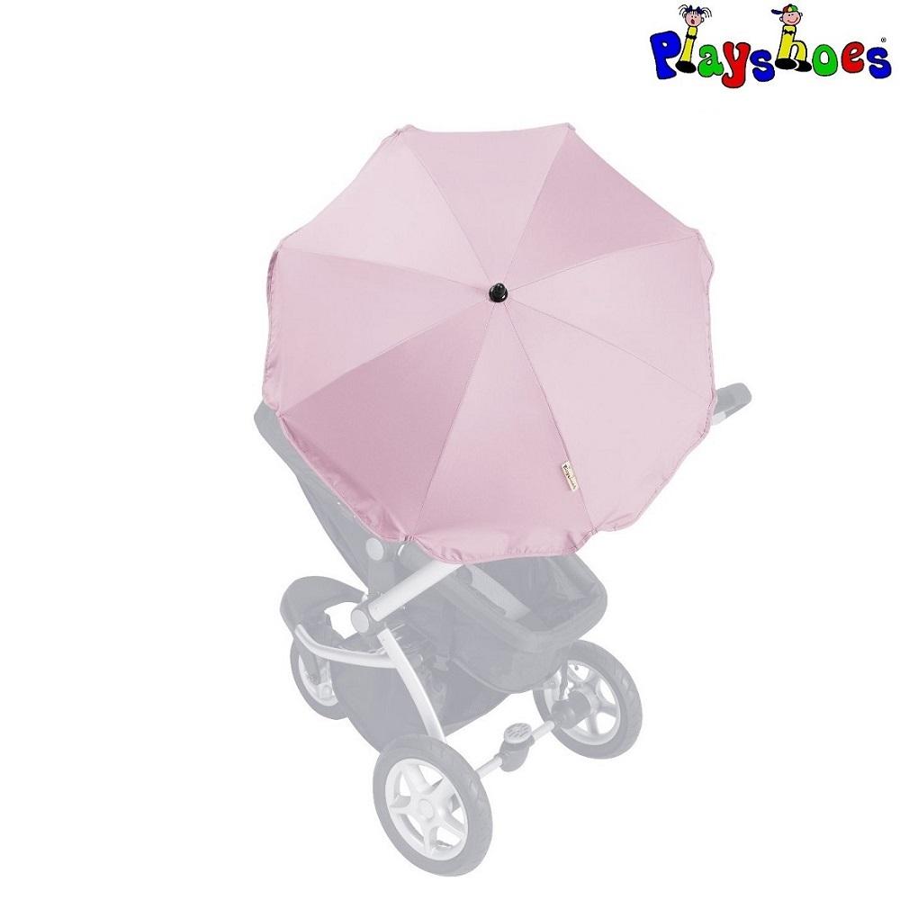 Aurinkovarjo rattaisiin ja vaunuihin Playshoes vaaleanpunainen