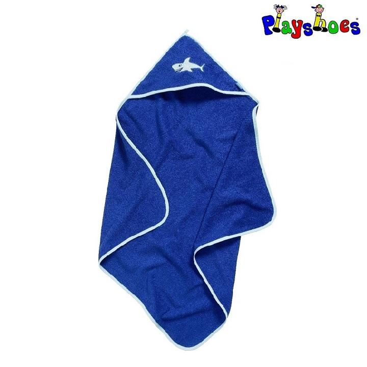 Lasten huppupyyhe Playshoes Hai sininen
