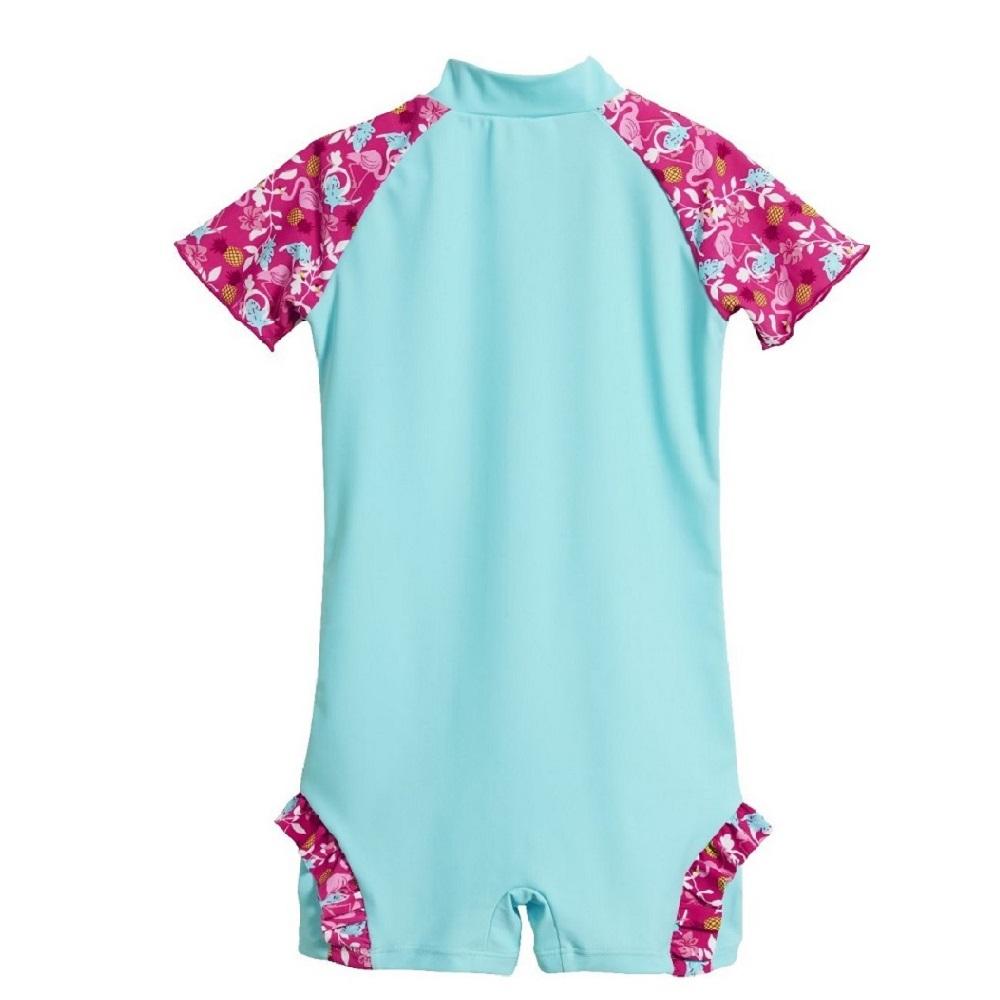 Lasten Uv uimapuku Playshoes Flamingo vaaleansininen