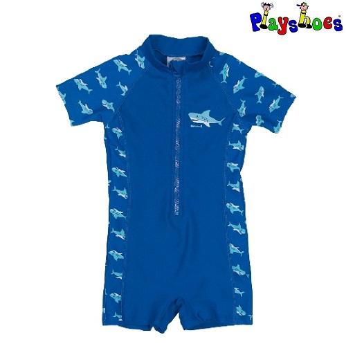Lasten Uv uimapuku Playshoes Hai sininen
