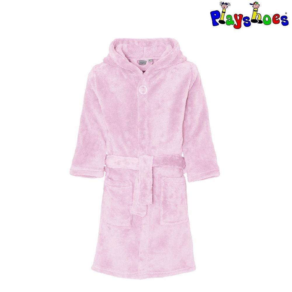 Lasten kylpytakki Playshoes vaaleanpunainen