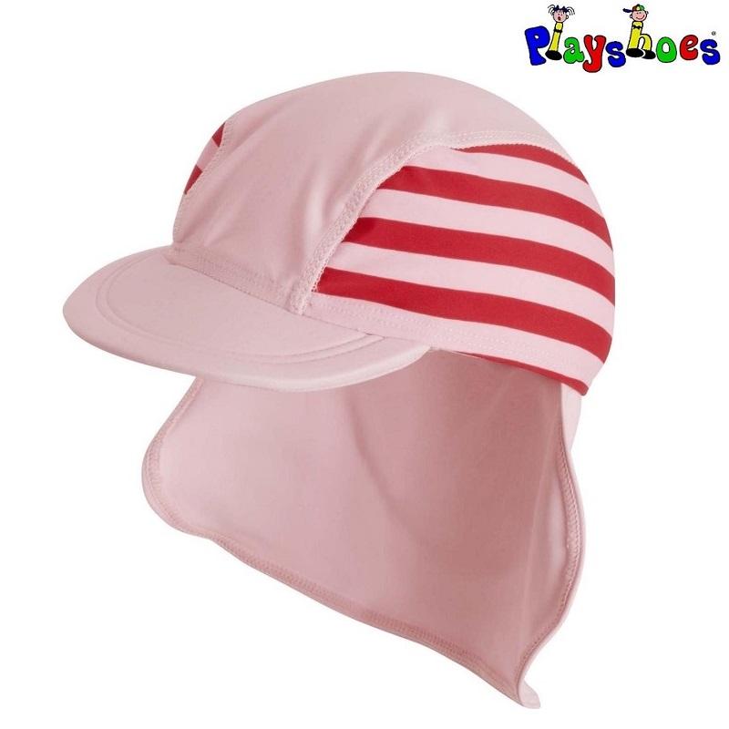 Lasten Uv aurinkohattu Playshoes Perhonen vaaleanpunainen