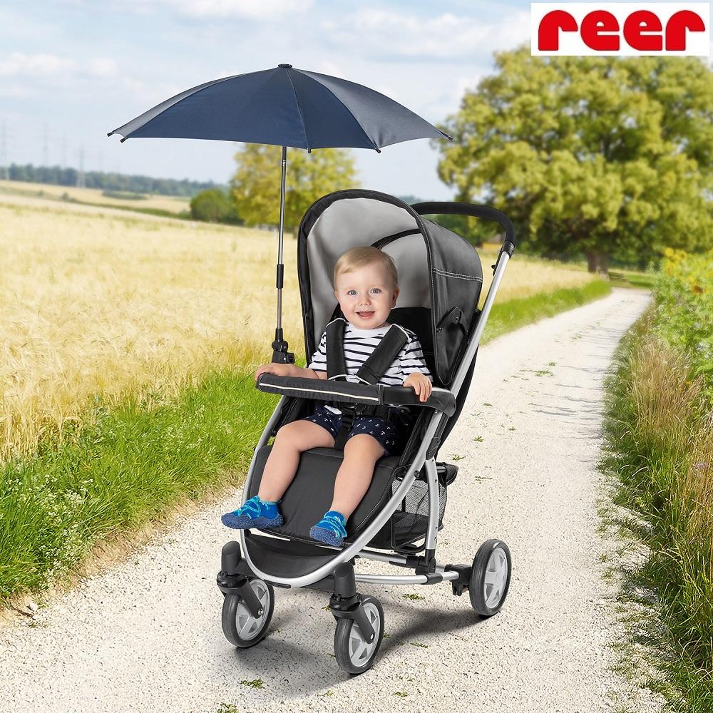Aurinkovarjo vaunuihin ja rattaisiin Reer Shinesafe Sininen