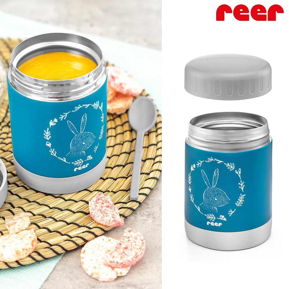 Lasten ruokatermos Reer Colourdesign sininen