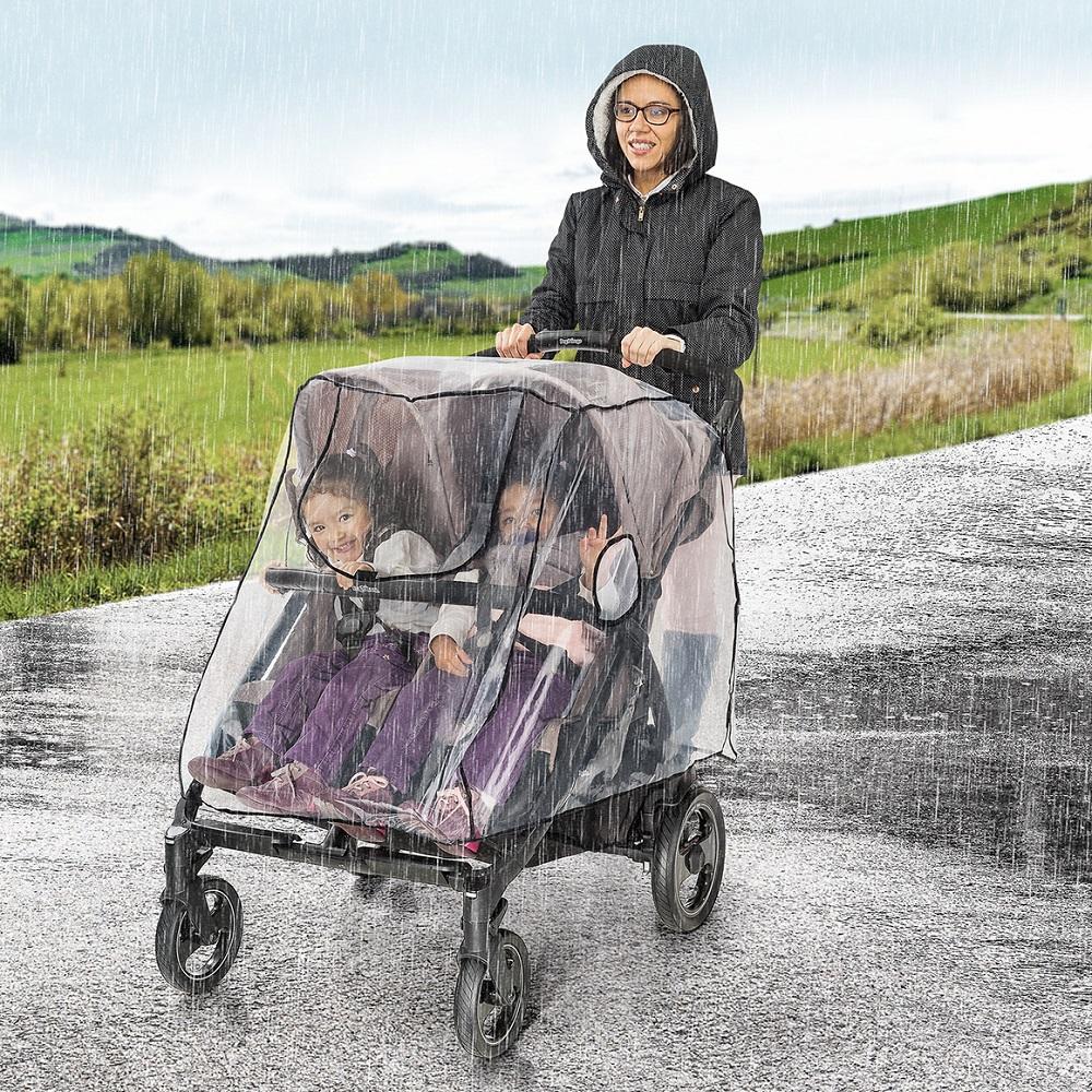 Sadesuoja kaksosrattaisiin Reer RainCover Twin
