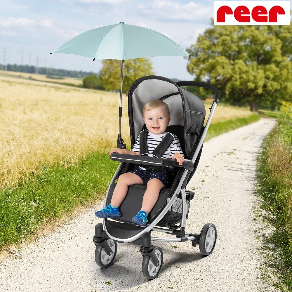 Aurinkovarjo vaunuihin ja rattaisiin Reer mint