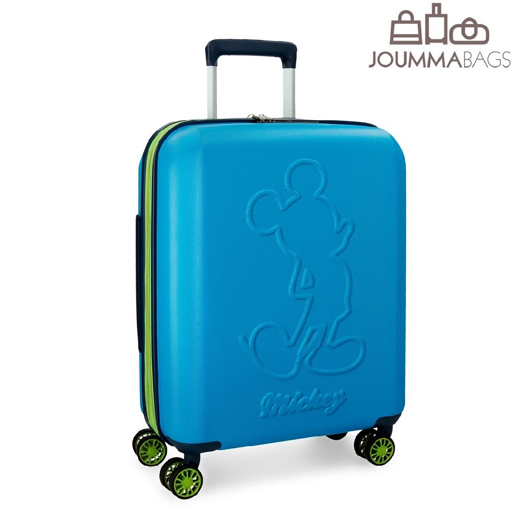 Lasten ABS matkalaukku Mikkihiiri sininen