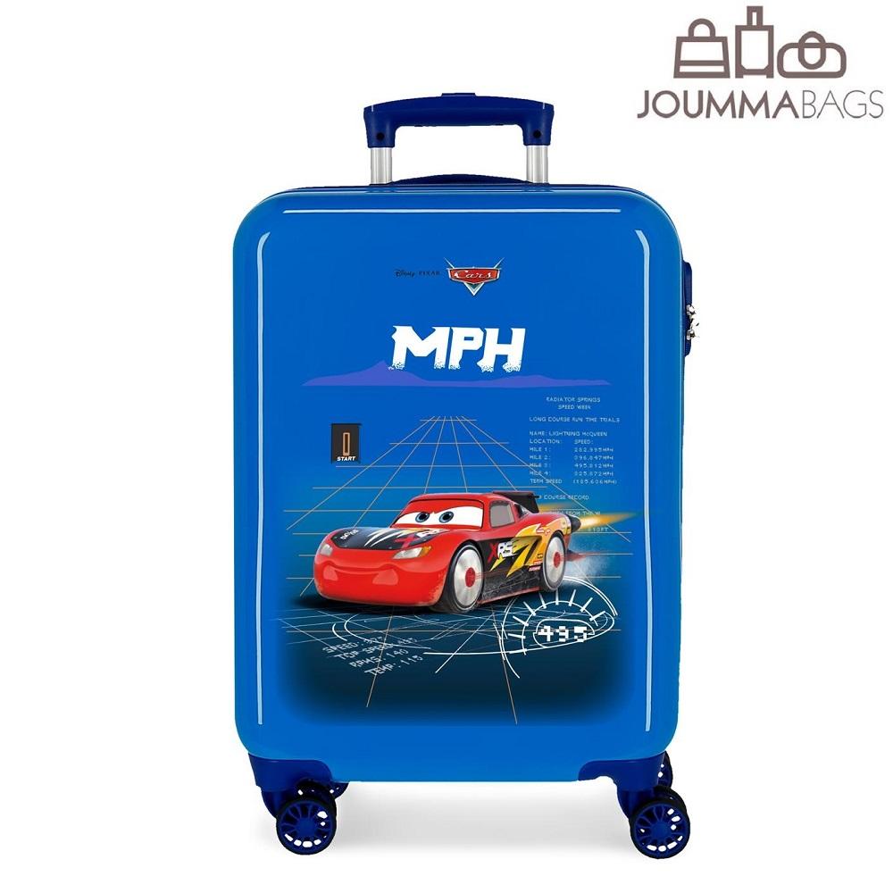 Lasten ABS matkalaukku 55 cm Cars 3 Rocket Racing sininen