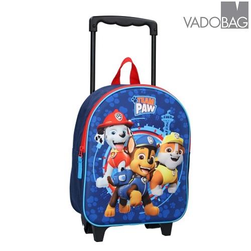 Lasten matkalaukku ja reppu pieni Paw Patrol sininen