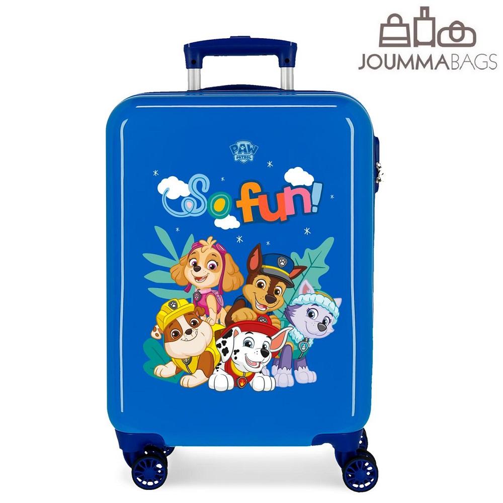 Resväska för barn Paw Patrol Fun blå
