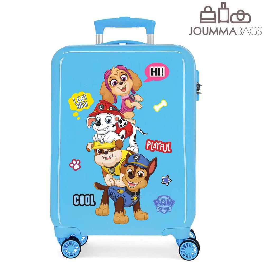 Resväska för barn Paw Patrol Playful blå
