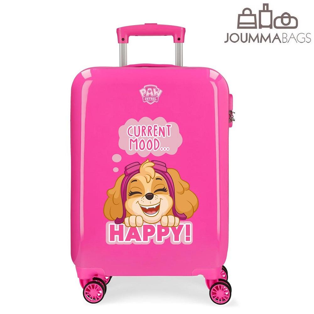 Resväska för barn Paw Patrol Playful rosa