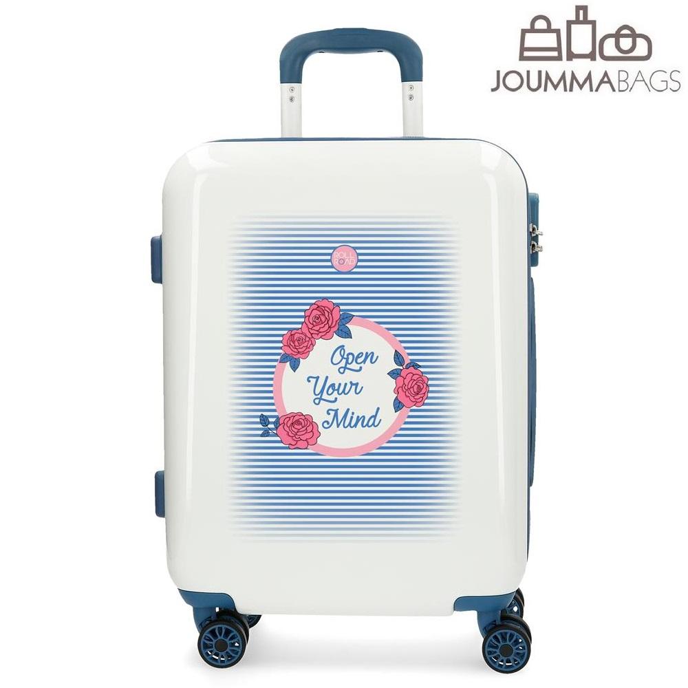 Resväska för barn Roll Road Rose