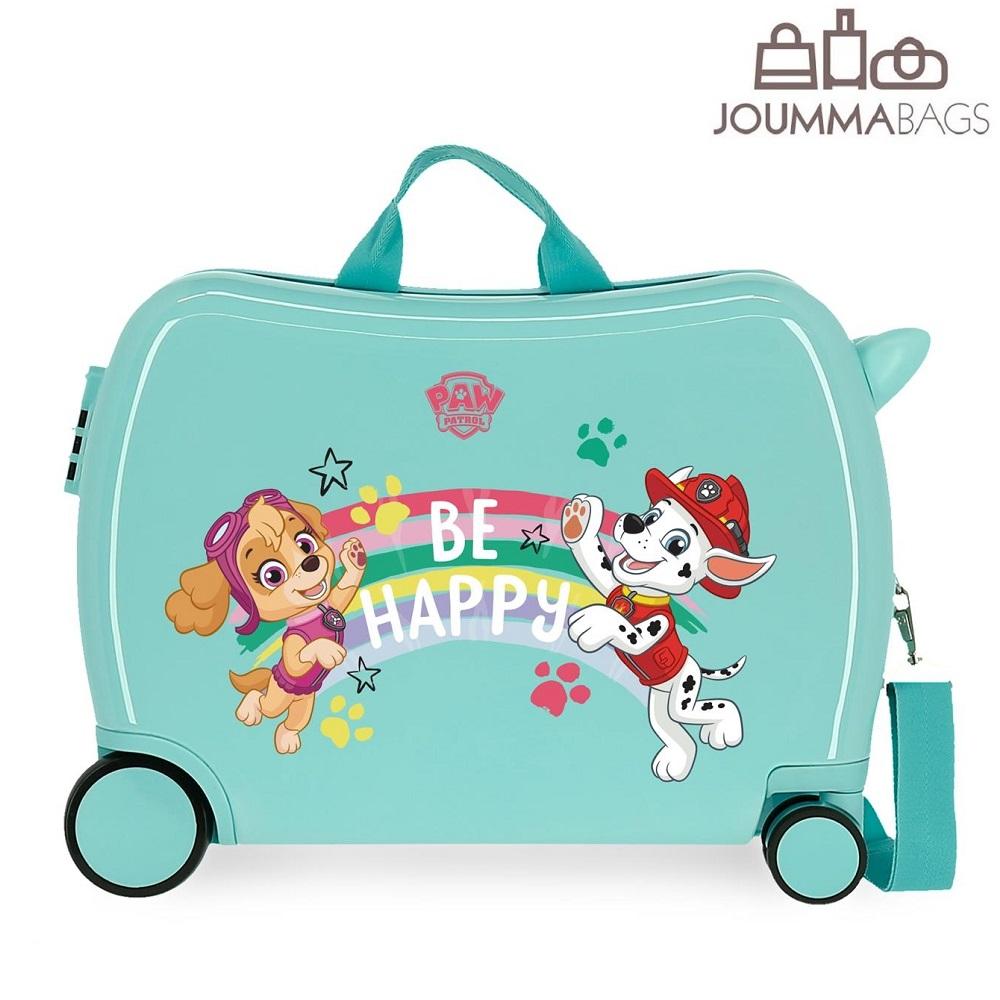 Lasten ABS matkalaukku paallaistuttava Ryhma Hau vaaleansininen