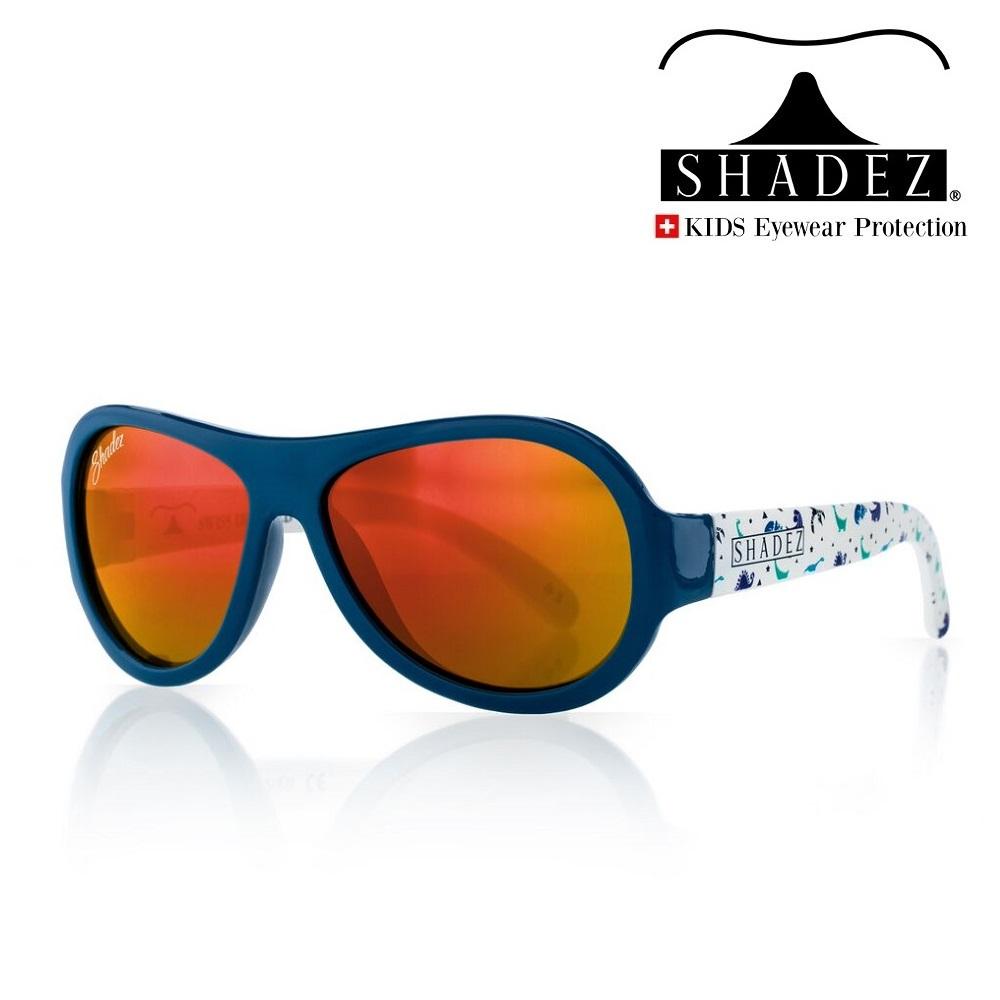 Aurinkolasit lapselle Shadez Baby Dino Blue 0-3 v.