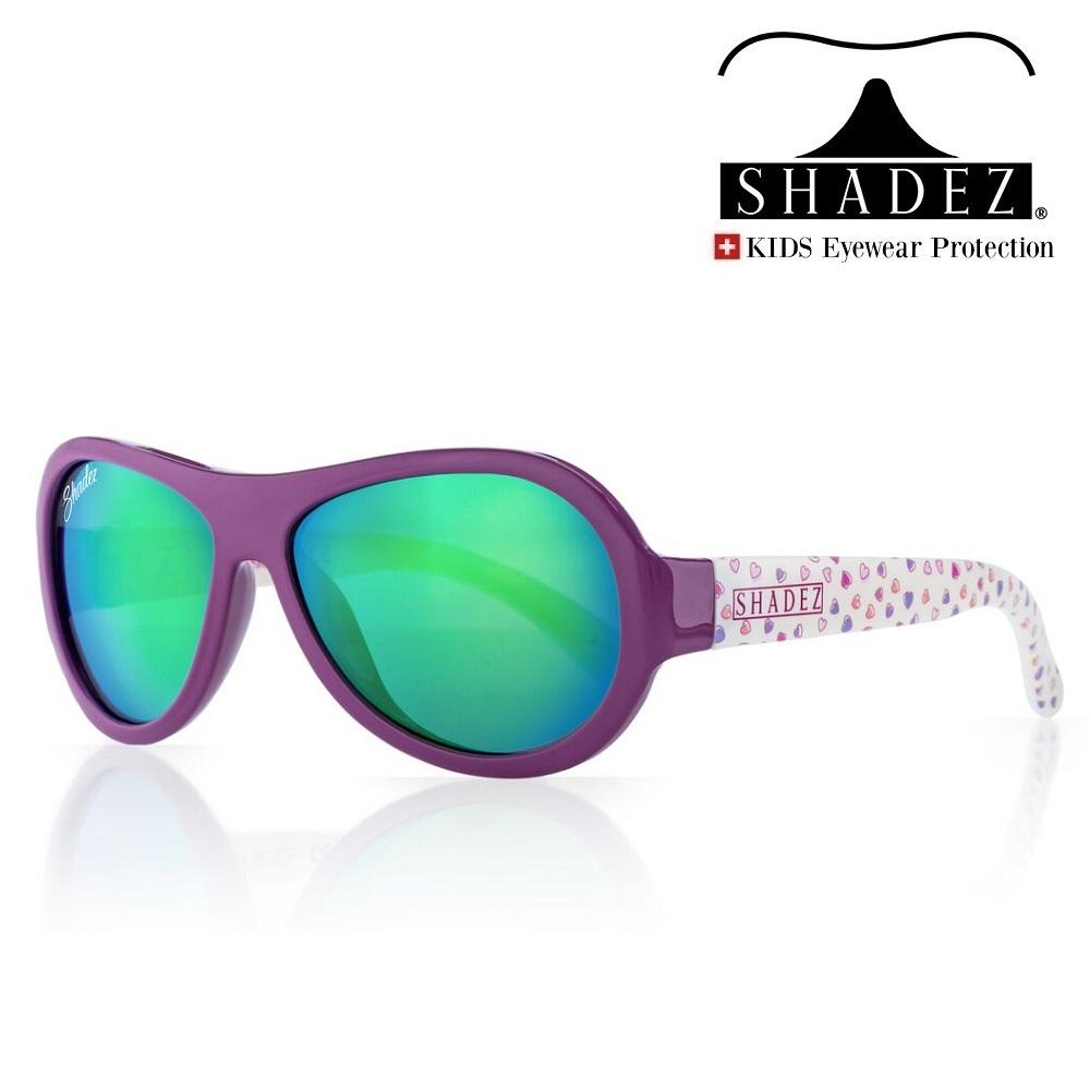 Aurinkolasit lapselle Shadez Junior Purple Hearts