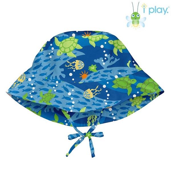 Lasten aurinkohattu Iplay Blue turtle sininen