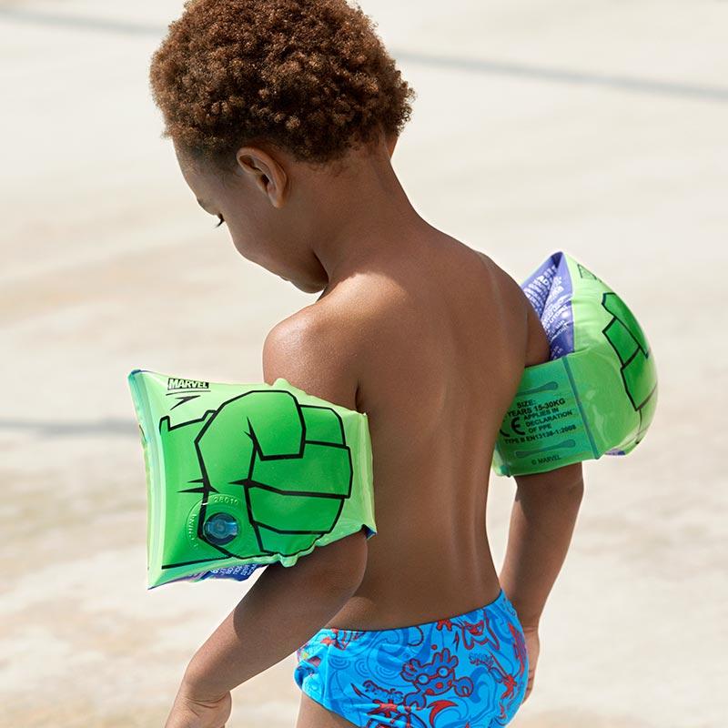 Uimakellukkeet Lapsille Speedo Hulk Vihreä