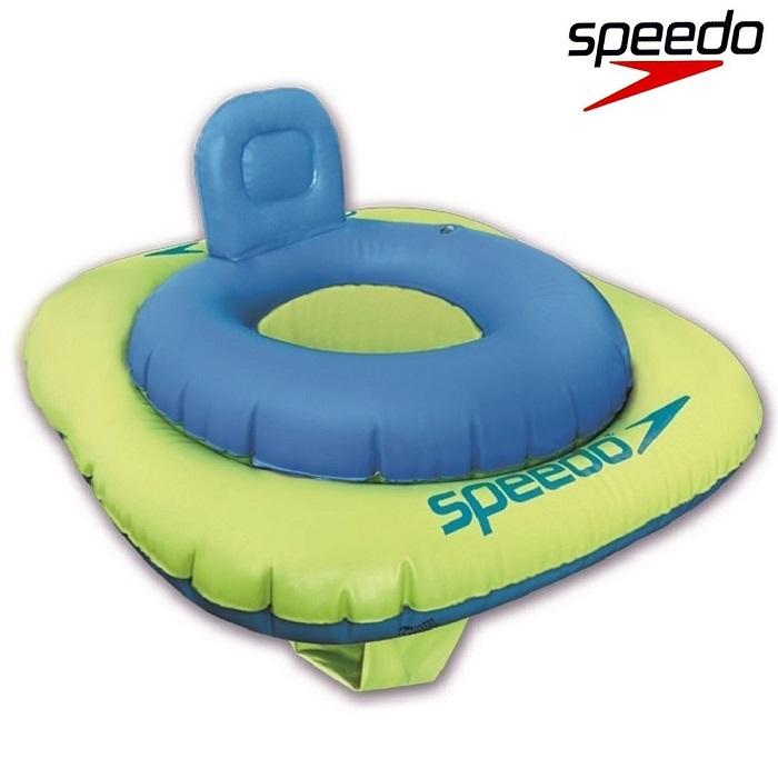 Vauvan Uimarengas Speedo Swim Seat sininen ja vihrea 0-1v