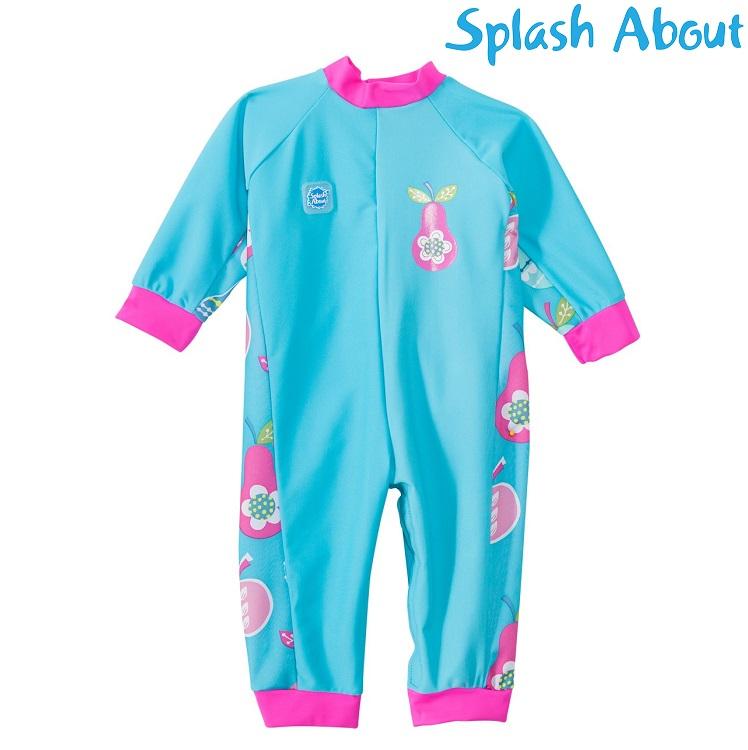 Vauvan tayspitka UV uimapuku Splashabout ptuttifrutti sininen