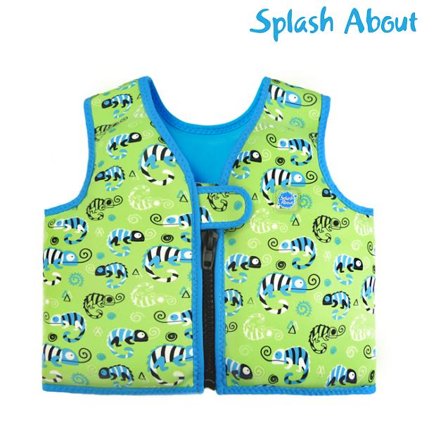 Lasten uimaliivi Splashabout Geko vihrea