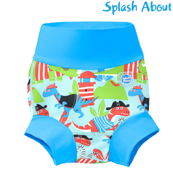 Uimavaippa SplashAbout Happy Nappy Dino Pirates
