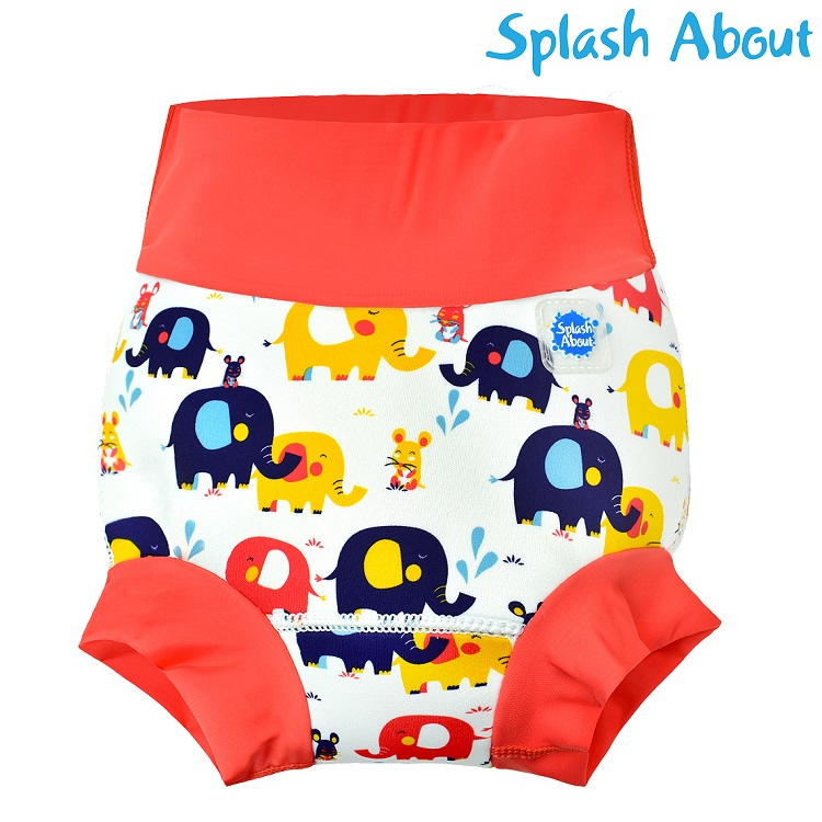Uimavaippa SplashAbout Happy Nappy Little Elephants