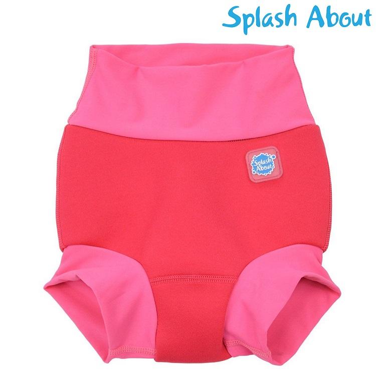 Uimavaippa SplashAbout Happy Nappy Pink Geranium
