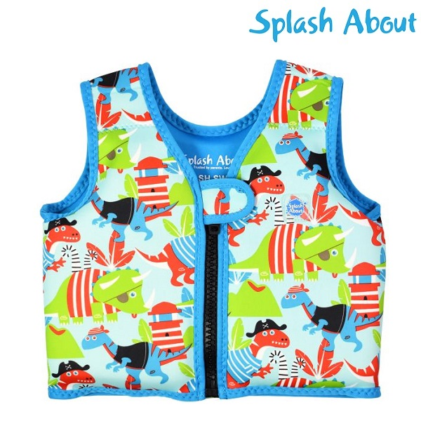 Lasten uimaliivi SplashAbout Go Splash Dino Pirates