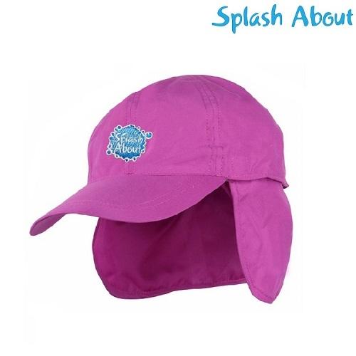 Lasten aurinkolippis Splashabout vaaleanpunainen