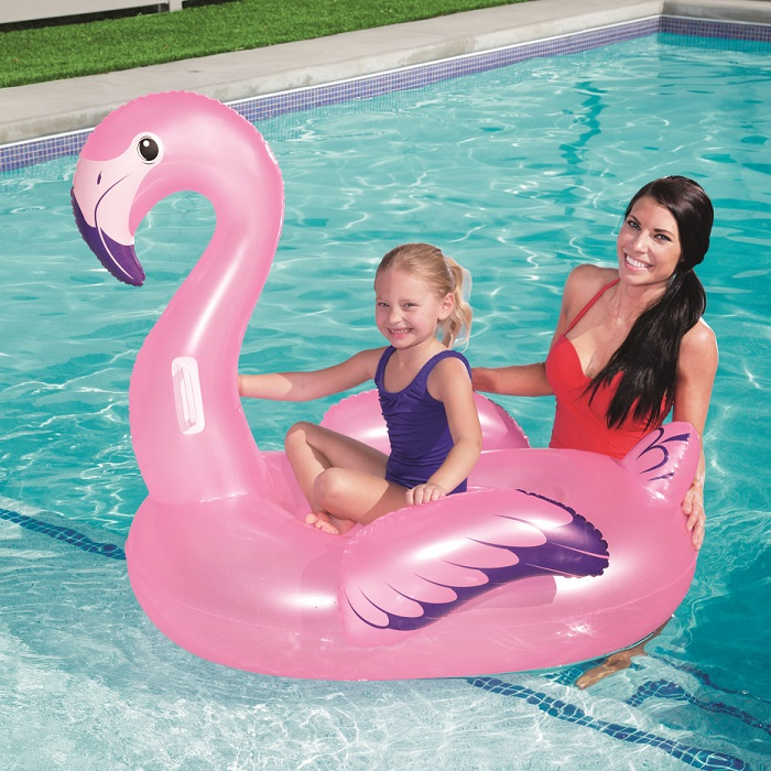 Lasten uimapatja XL Bestway Flamingo