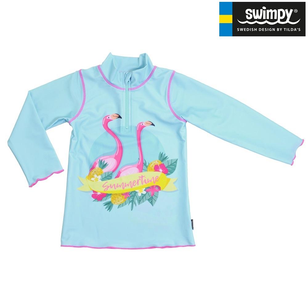 UV-tröja Swimpy Flamingo