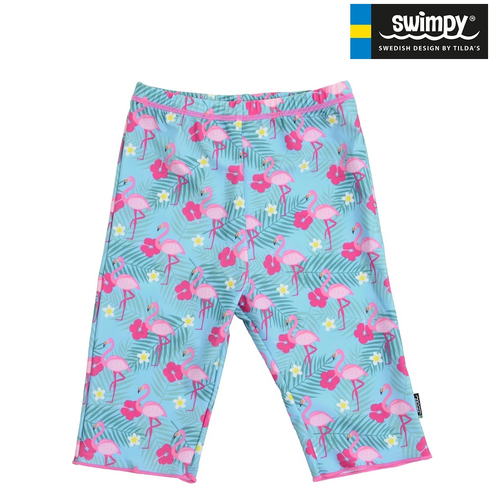 Lasten UV-uimahousut Swimpy Flamingo