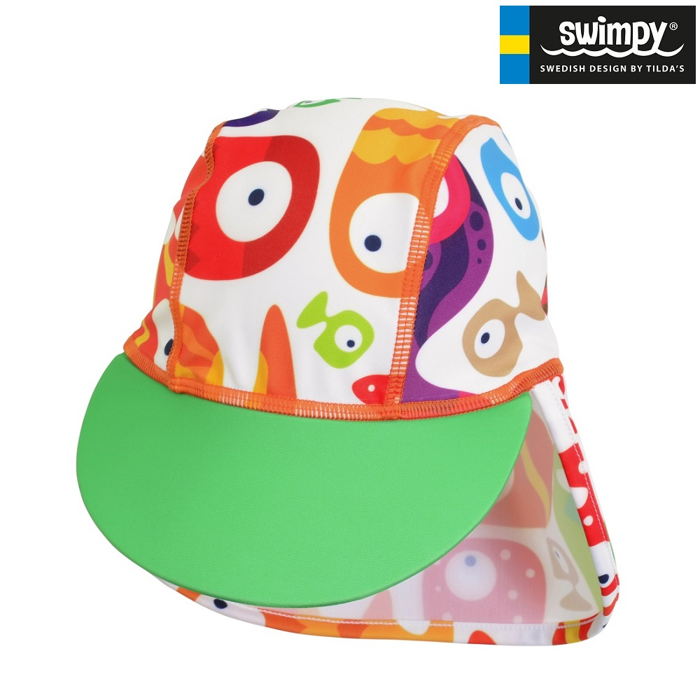 UV-hatt barn Swimpy Funny Fish