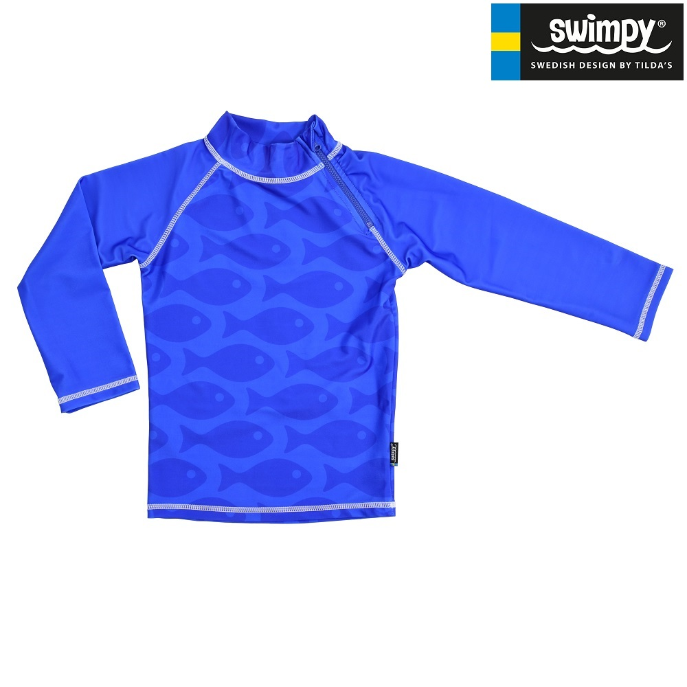 Swimpy Solid Fish Blue