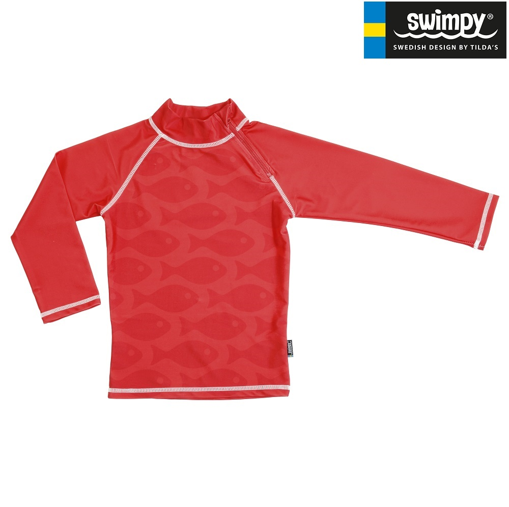 Swimpy Solid Fish Red