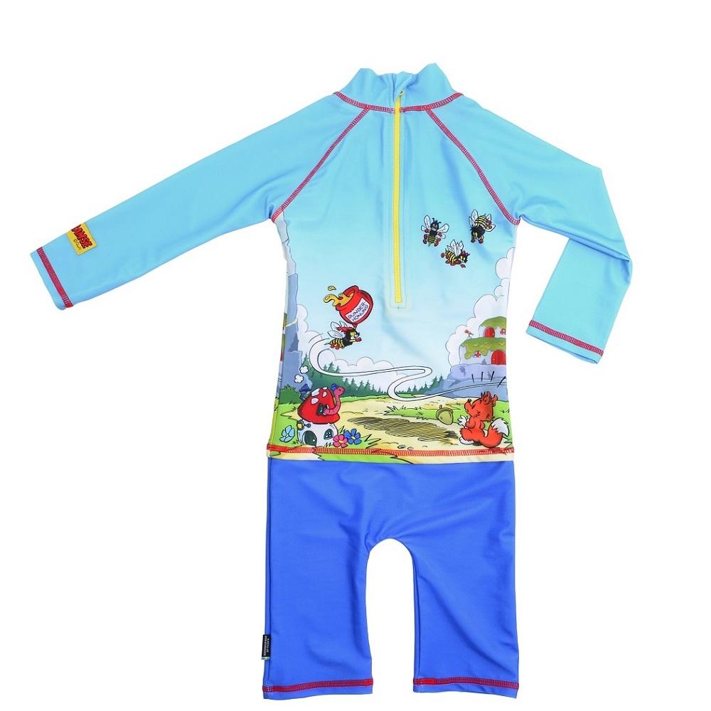 Lasten Uv-uimapuku Swimpy Bamse sininen