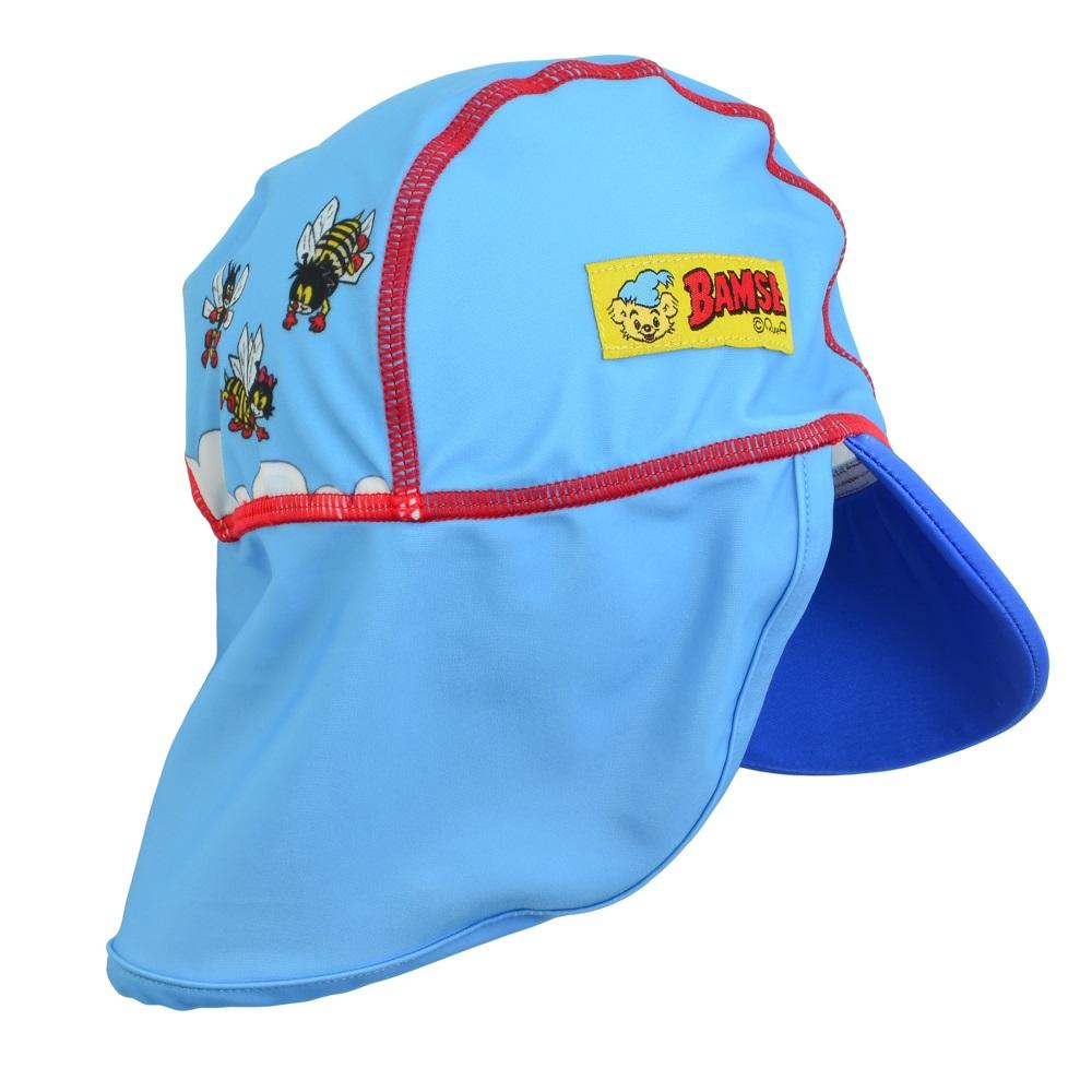 UV-hatt Swimpy Bamse blå