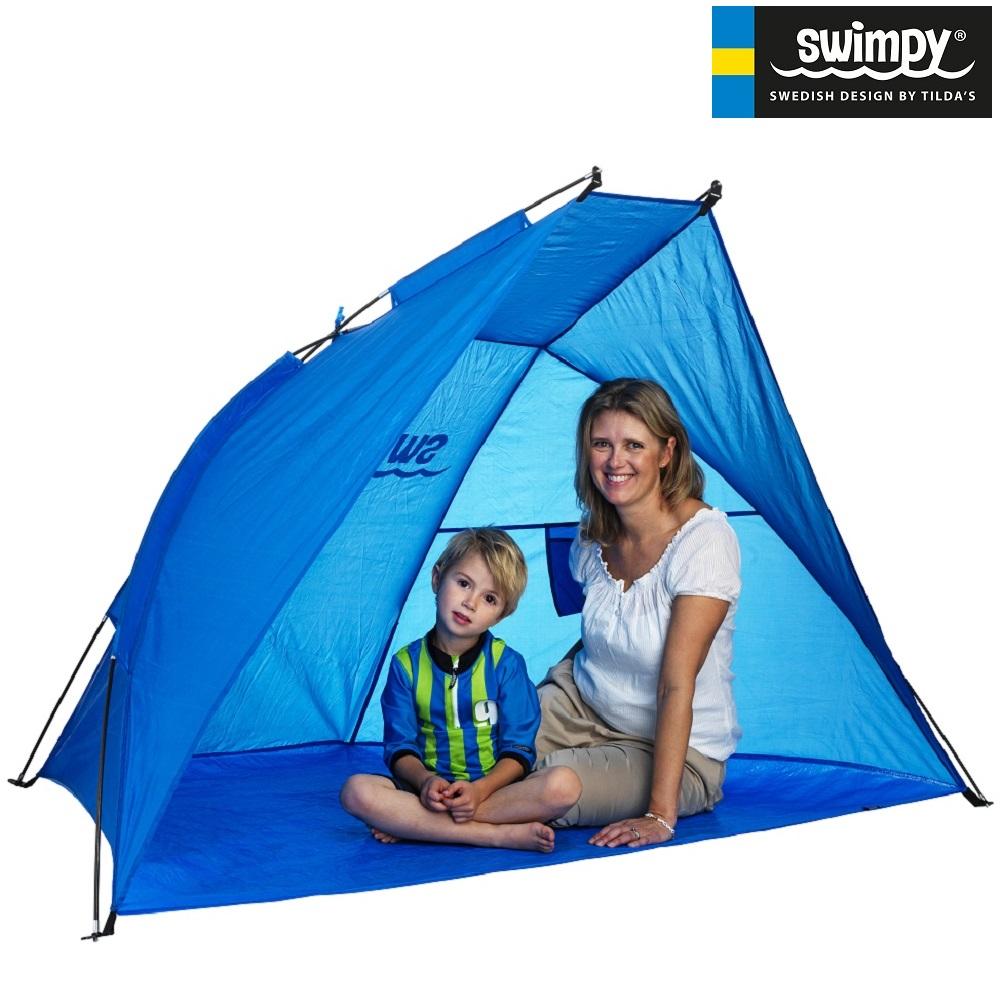 Rantateltta Swimpy UV-teltta XL Sininen