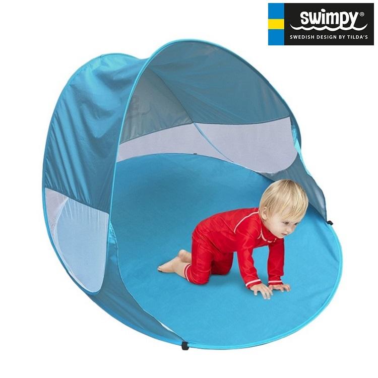 Rantateltta Swimpy UV-teltta Sininen