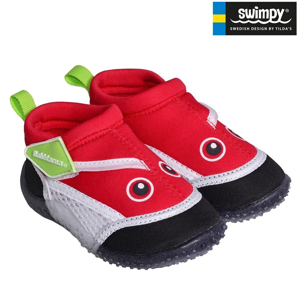 Rantakengät lapsille Swimpy Babblarna Punainen