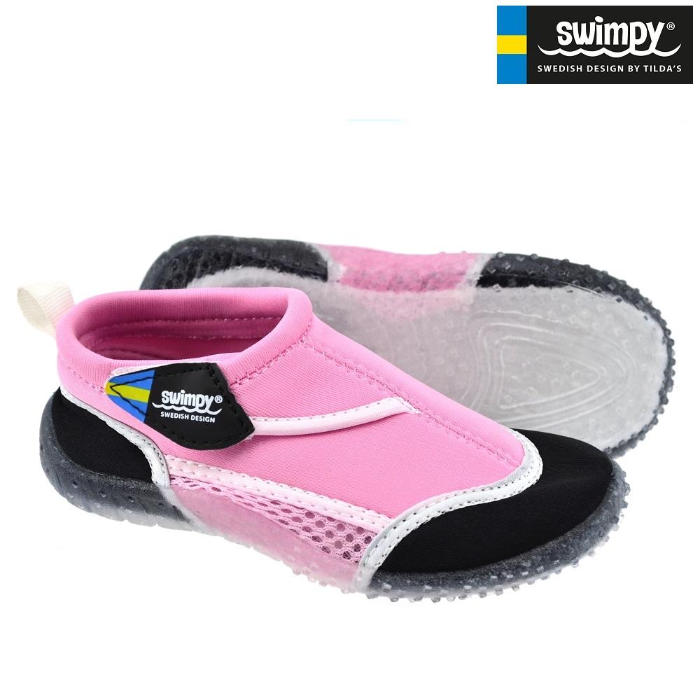 Rantakengät lapsille Swimpy Vaaleanpunainen