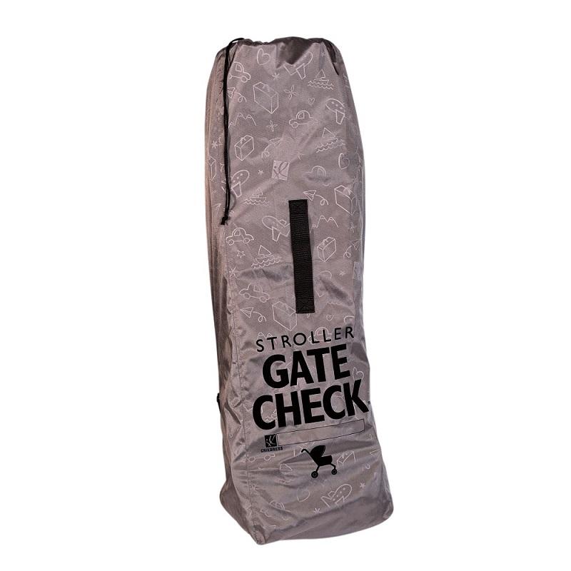 Kuljetuslaukku Rattaille Gate Check Deluxe harmaa