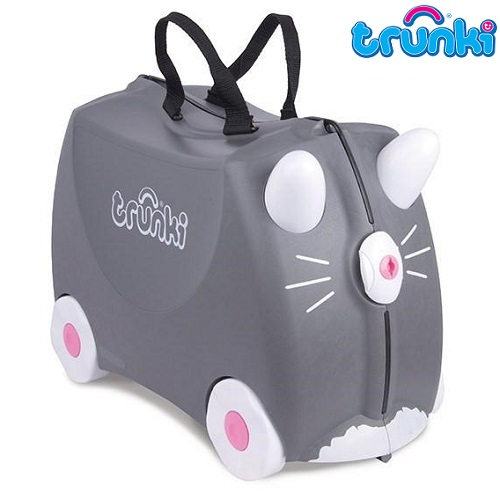 Resväska barn Trunki Benny Cat