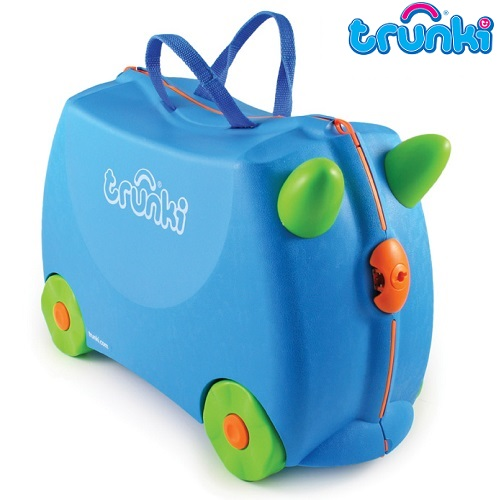 Resväska barn Trunki Terrance Blue